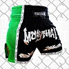 FIGHTERS - Thaibox Shorts / Elite Muay Thai / Schwarz-Grün / XL