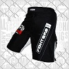 FIGHTERS - Fightshorts MMA Shorts / Combat / Schwarz / XS