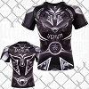 Venum - Rashguard / Gladiator 3.0 / Short Sleeve / Schwarz / Medium