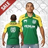 Venum - Polo Shirt / Jose Aldo Junior Signature / Vert-Jaune