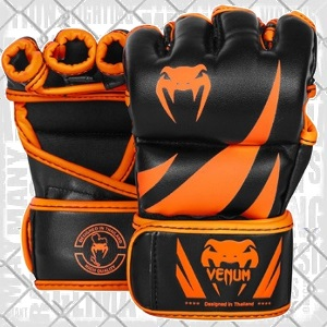 Venum - MMA Gants Challenger / Noir-Neo Orange / Medium